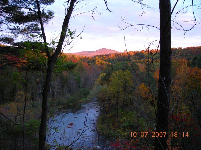 Beautiful Vermont in Autumn