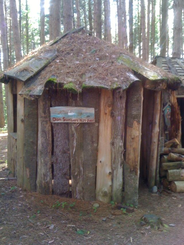 Round elf house